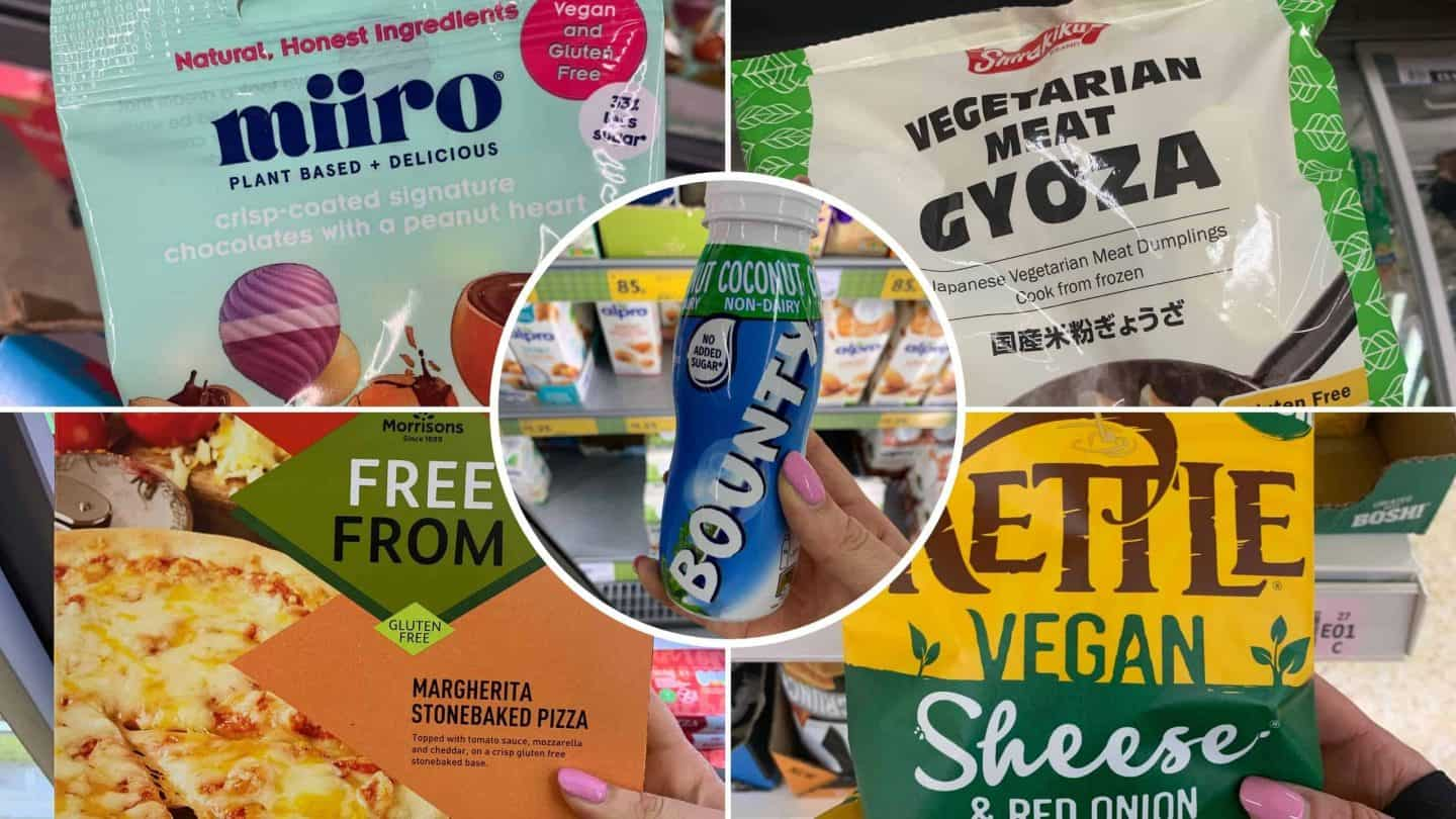 brand new gluten free products uk supermarkets dairy free vegan