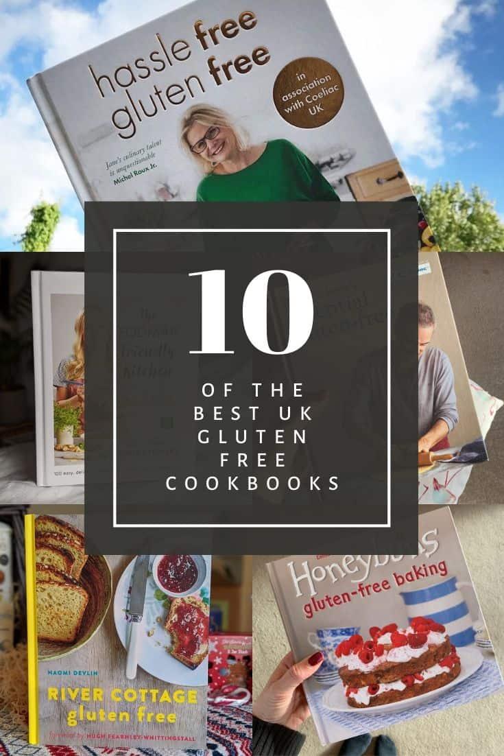 gluten free cookbooks in the uk coeliac disease celiac