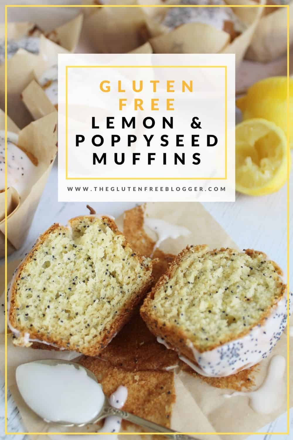 gluten free lemon and poppyseed muffins recipe coeliac celiac easy baking recipes