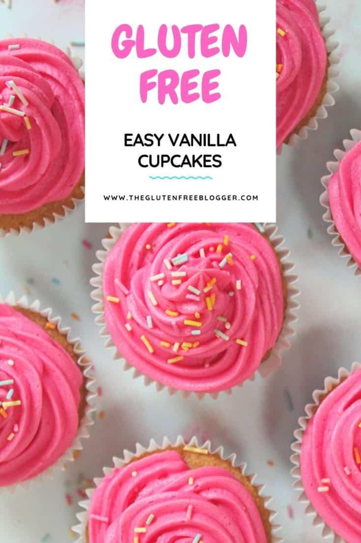 gluten free vanilla cupcake recipe easy cupcakes baking coeliac celiac buttercream frosting basics (1)