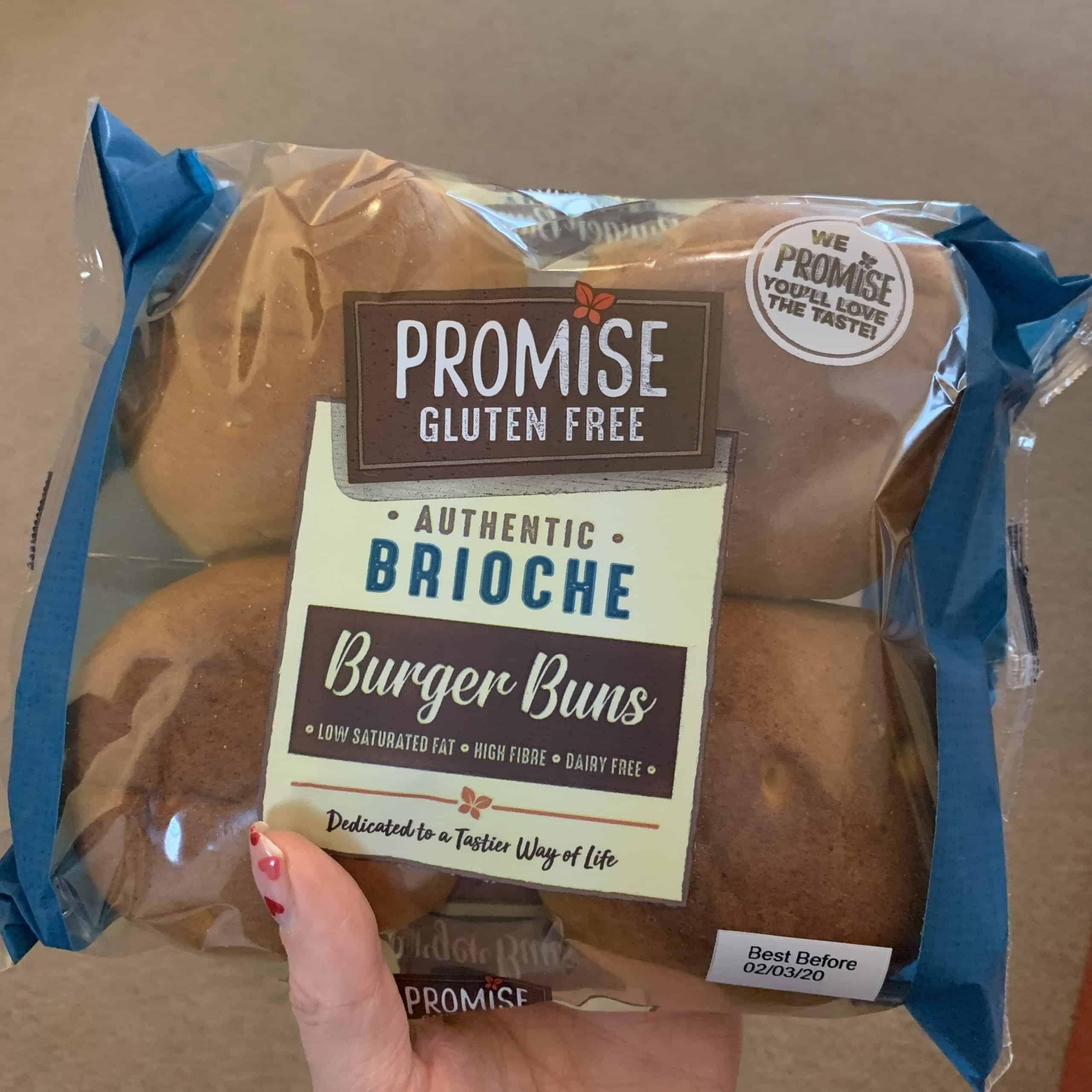 promise gluten free brioche bun