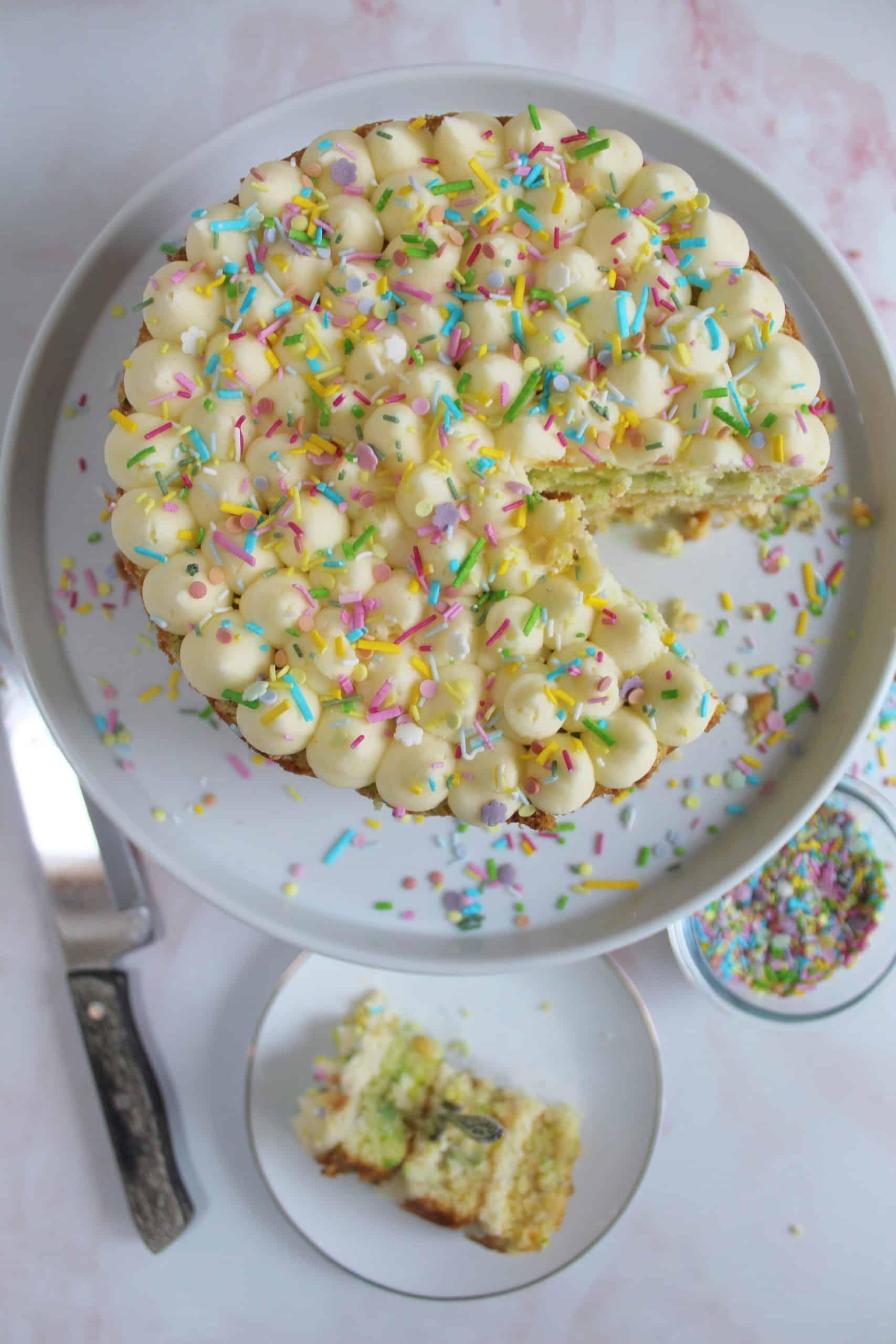 gluten free funfetti cake recipe uk