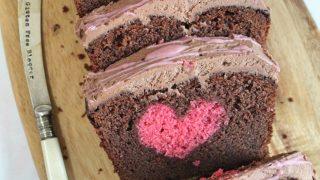 Gluten Free Hidden Heart Cake