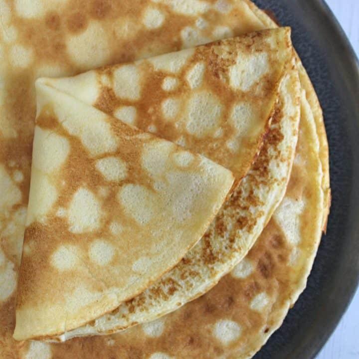 gluten free pancake recipe easy crepe style 4