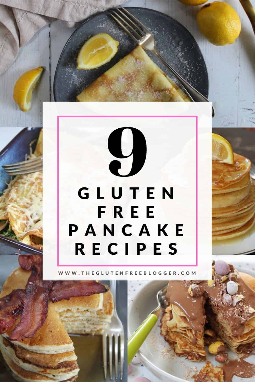 gluten free pancake recipes dairy free coeliac pancake day