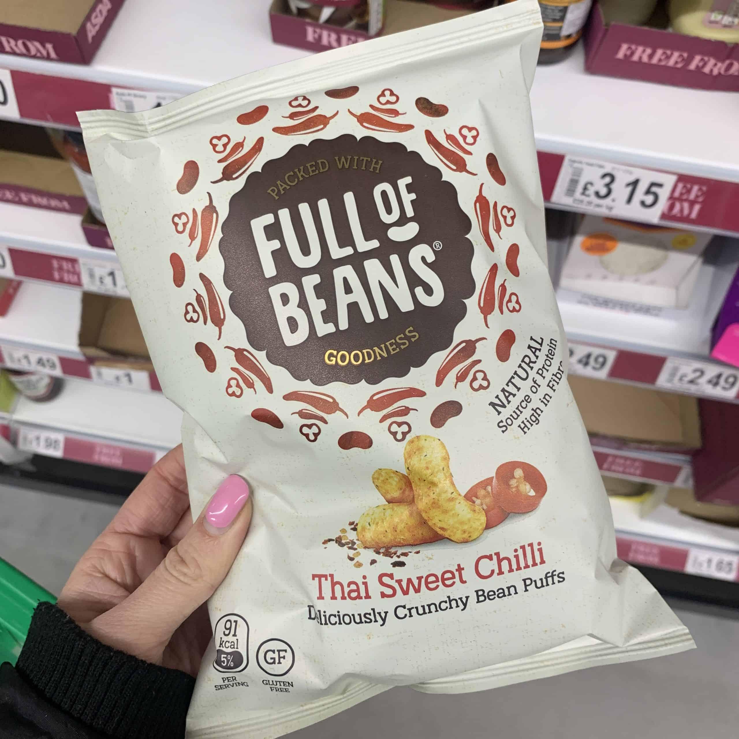 full of beans gluten free crisps