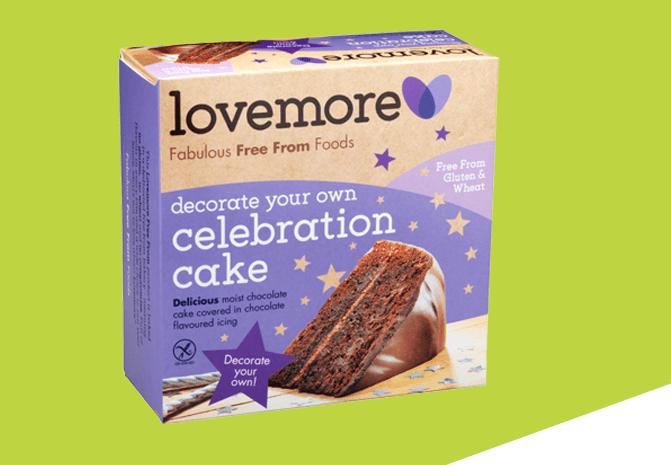 lovemore gluten free cake delivery