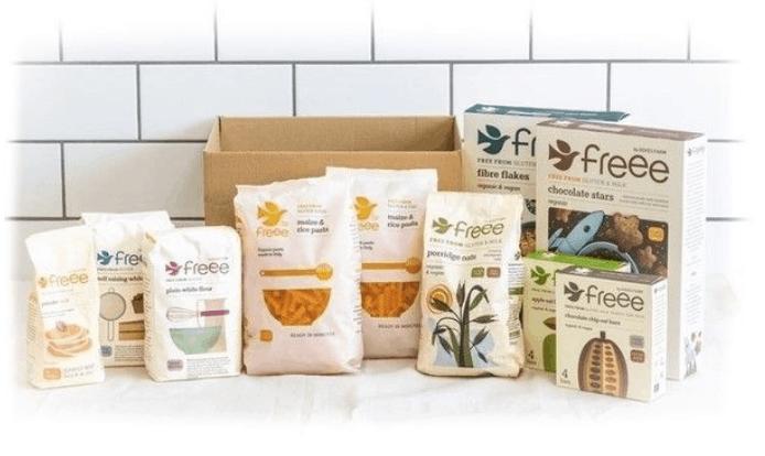freee by doves farm trial box gluten free