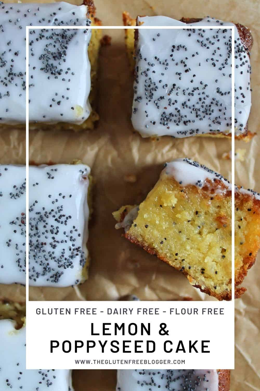 gluten free dairy free flour free lemon poppyseed cake lemon drizzle mayonnaise cake mashed potato cake storecupboard recipes