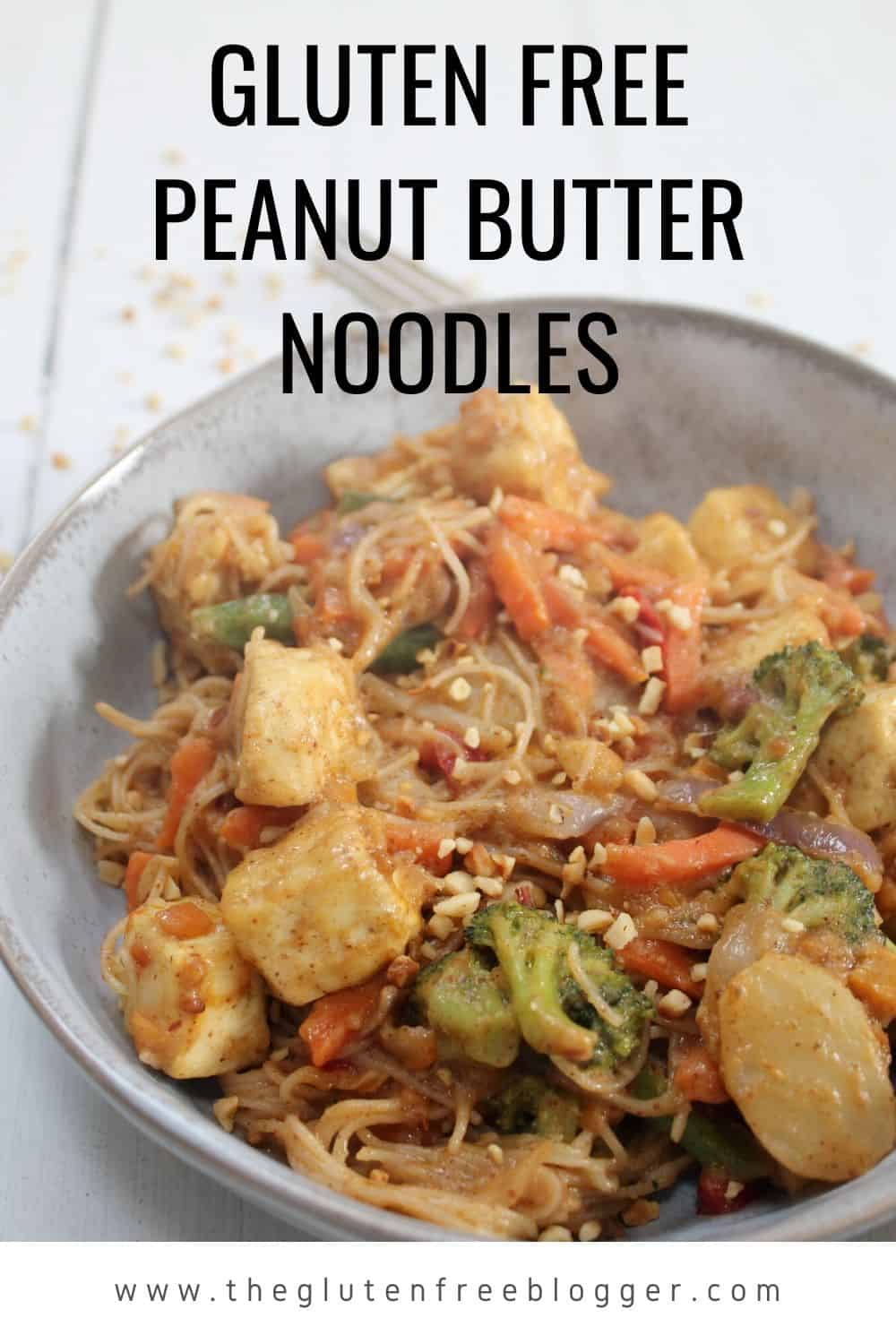 gluten free peanut butter noodles dinner ideas easy gluten free meals dairy free coeliac friendly (2)