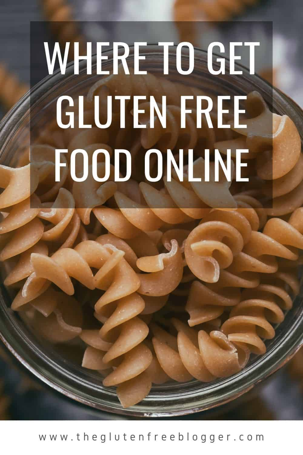 where to get gluten free food online during self-isolation lockdown uk
