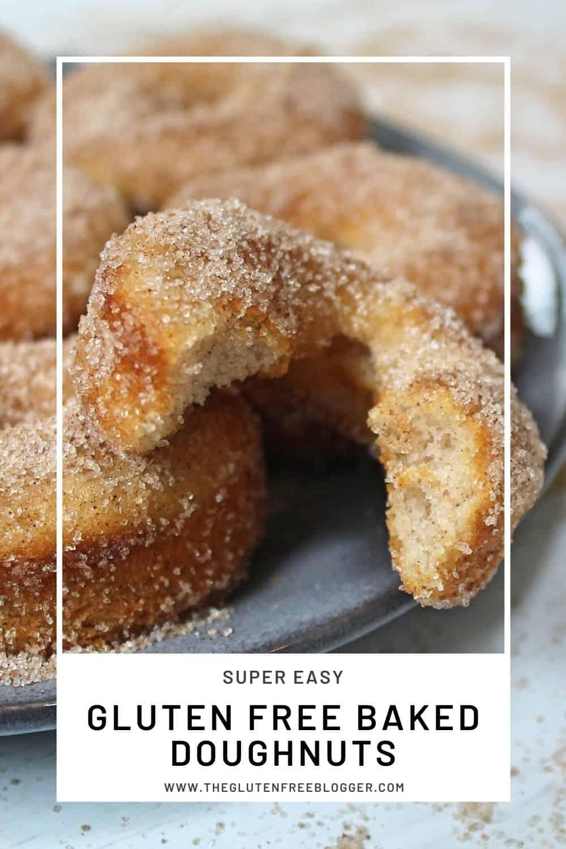 GLUTEN FREE BAKED DOUGHNUTS RECIPE EASY BAKED DONUTS CINNAMON SUGAR