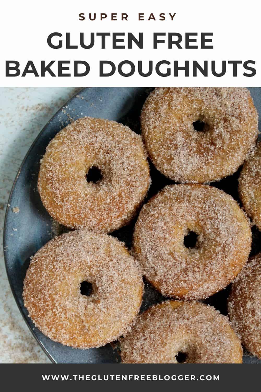 GLUTEN FREE BAKED DOUGHNUTS RECIPE EASY BAKED DONUTS CINNAMON SUGAR (2)