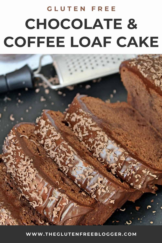 GLUTEN FREE CHOCOLATE AND COFFEE CAKE LOAF CAKE MOCHA CHOCACHINO RECIPE