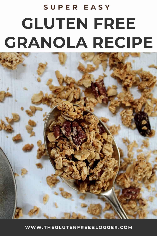 easy gluten free granola recipe peanut butter breakfast ideas