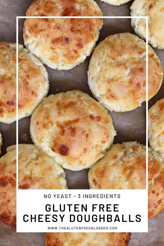 gluten free cheesy doughballs recipe no yeast free baking recipes