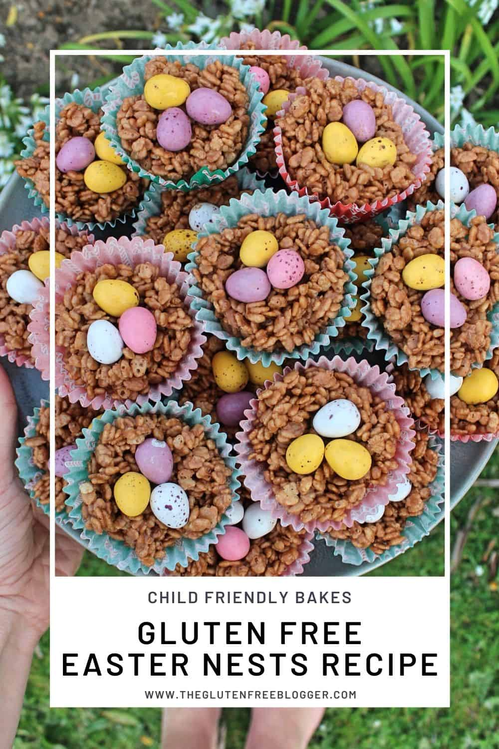 gluten free easter nests recipe easy child friendly no bake recipes (1)