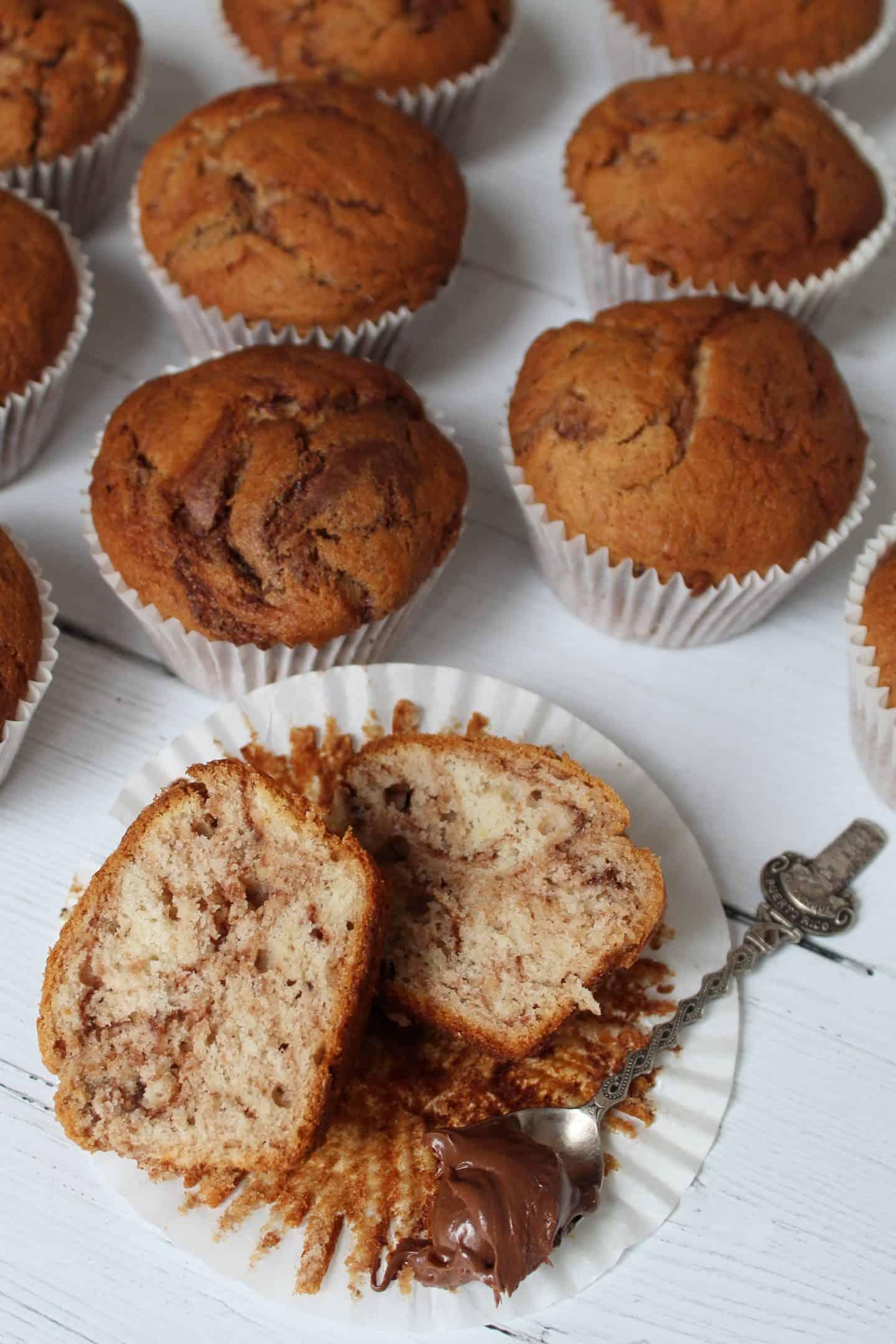 GLUTEN FREE NUTELLA BANANA MUFFINS RECIPE 145