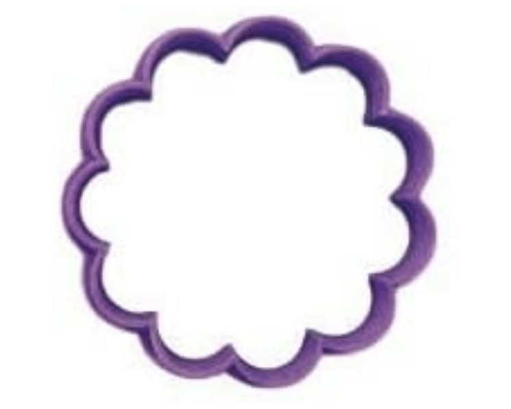 Scalloped Round 1.5inch Cookie Cutter