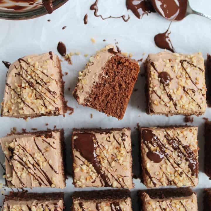 GLUTEN FREE NUTELLA CAKE 105