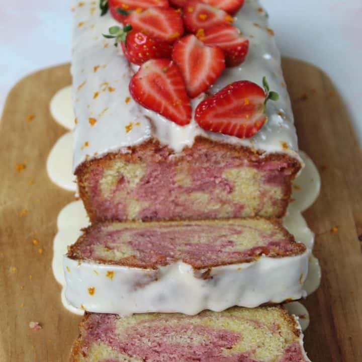 GLUTEN FREE STRAWBERRY AND ORANGE MABLE CAKE RECIPE